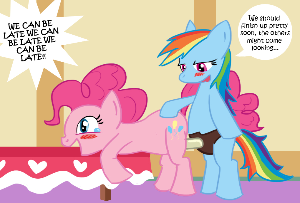 pinkie pie dash rainbow vs Out of context western