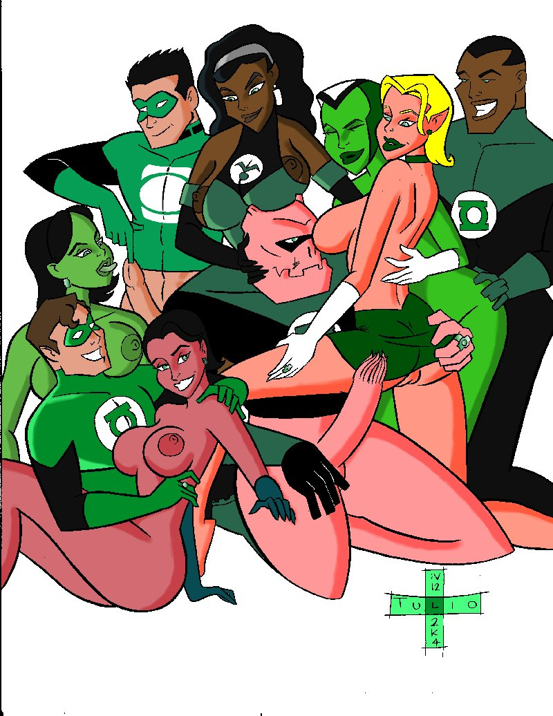 animated green the torrent lantern series Leather club's two blocks down