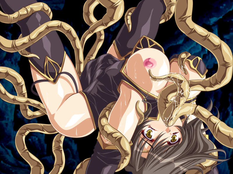 tentacle the all way gif through Person with the biggest boobs