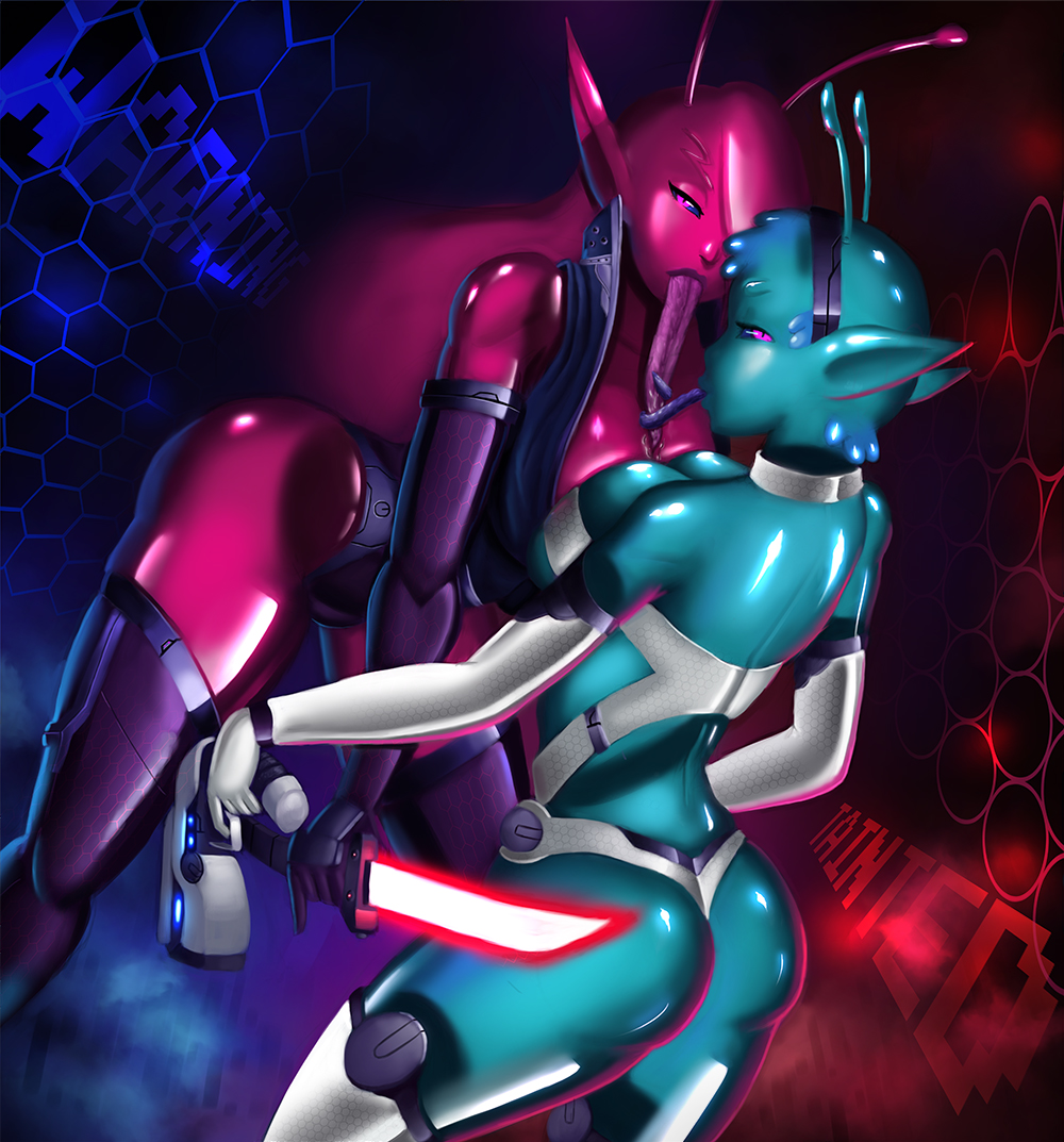 in space trials tainted kase Fnaf foxy and mangle porn