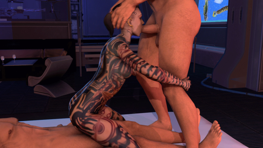 and fanfiction mass shepard tali effect Daigasso! band brothers p