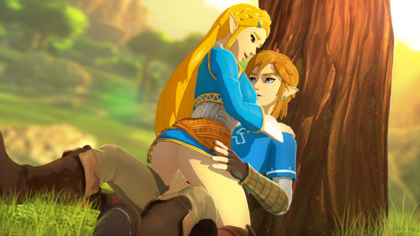 the link of yaoi breath wild Little nightmares six and the lady