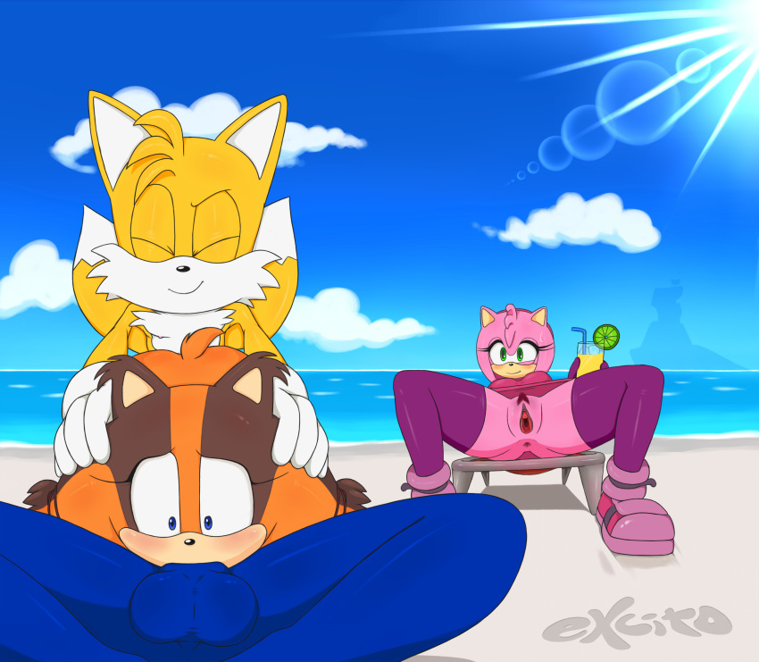 sonic boom the fox zooey Ladies vs butlers special 3