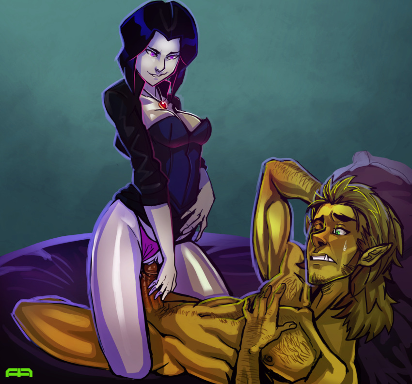naked beast boy and raven My very own lith pink collar