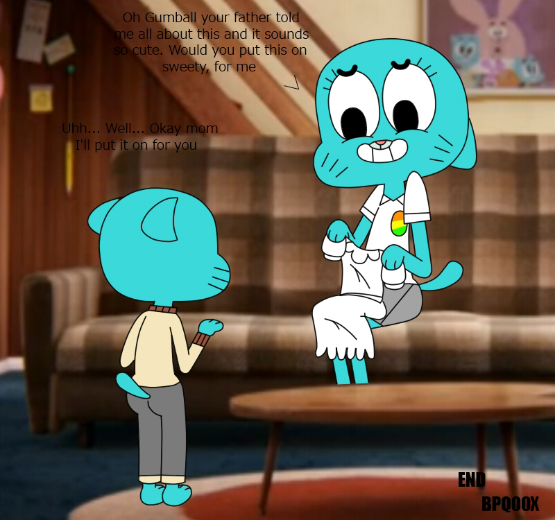 amazing henti world the of gumball Animal crossing new leaf rolf